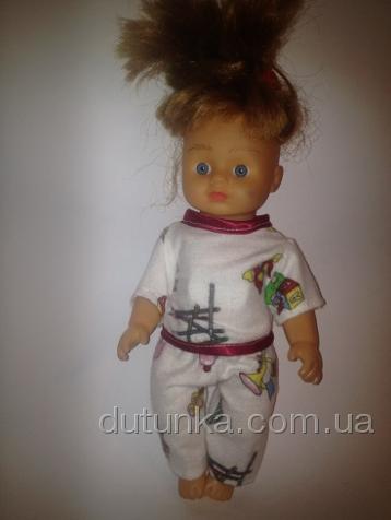 Пижамки для пупса 28 см Сладких снов (R51) Dutunka