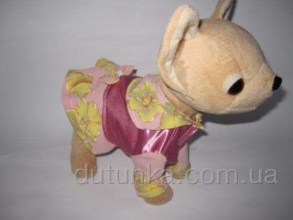 Сукня для собачки Весняна Dutunka
