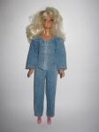 Джинсовый брючный костюм для куклы Барби Модный джинс2 (Б205) Dutunka