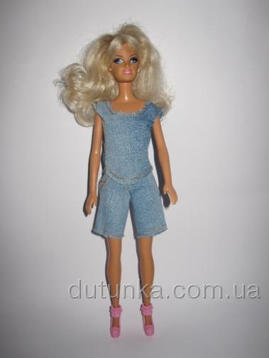 Комплект джинсовый для Барби (Б204) Dutunka