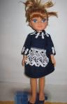 Платье школьное для куклы (К2) Dutunka