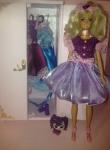 Бальное платье для Барби Фиолетовое настроение (Б2) Dutunka