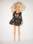 Платье для куклы Барби Звездная ночь (Б223) Dutunka