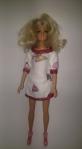 Баевое домашнее платье для куклы Барби Уютное (Б262) Dutunka