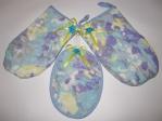 Подарочный комплект рукавичек-прихваток  (П27)(Нет в наличии) Dutunka