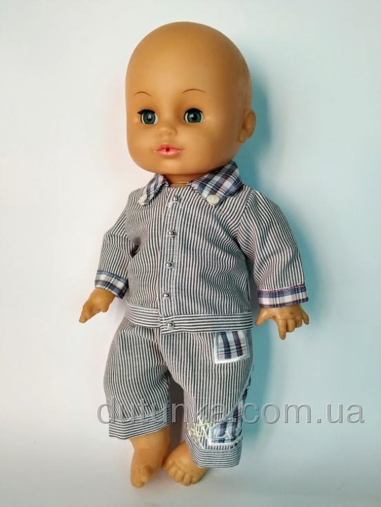Комплект одягу для пупса-хлопчика Стиляга Dutunka
