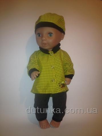 Комплект для пупса-мальчика Пчеленок (К38-209) Dutunka