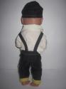 Комплект с джинсовым комбезиком для пупса Джинсовый стиль(К38-51) Dutunka