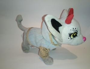 Джинсовий піджак з капюшоном для собачки Chi Chi Love Dutunka
