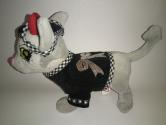 Вельветовий піджак для собачки хлопчика Чи-чи лав Dutunka