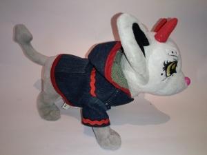 Джинсовий піджак для собачки Chi Chi Love Джинс Dutunka