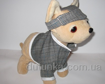 Одежда для интерактивной собачки мальчика Английский стиль (ЧЧЛ41) Dutunka