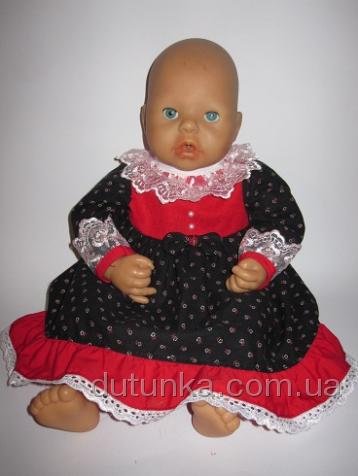 Сукня Червоне і чорне Dutunka