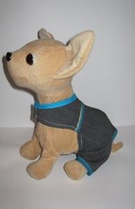 Комбінезон для інтерактивної собачки Чи Чи Лав Джинсовий стиль Dutunka