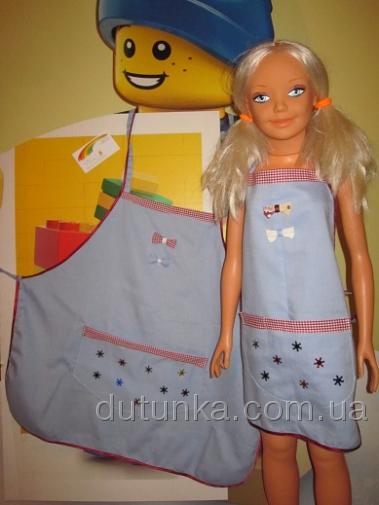 Набор фартуков для мамы и дочки Сказочные снежинки (Ф45)Нет в наличии Dutunka