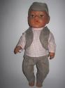 Комплект одягу для пупса хлопчика Бебі Борн Dutunka