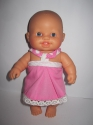 Платье для куколки Паола Рейна Розовое (ПР59) Dutunka