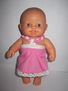 Сукня для лялечки Паола Рейна Рожеве Dutunka