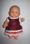 Платье для пупсика Паола Рейна (ПР68) Dutunka