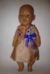 Платье для пупса-девочки Baby Born Три грации Синева.  (ББ707)  Dutunka