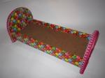 Кровать для куклы Барби Конфетка (К7) Dutunka