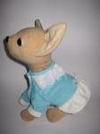Платье для интерактивной собачки Чи Чи Лав Голубое (ЧЧЛ75) Dutunka