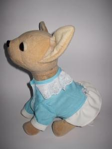 Сукня для інтерактивної собачки Чи Чи Лав Блакитна Dutunka