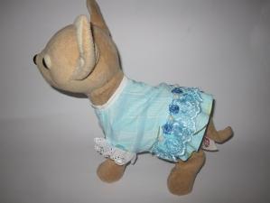 Плаття літнє для інтерактивної собачки Чи Чи Лав Ніжне Dutunka
