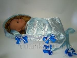 Лялькова переноска для пупса-хлопчика Бебі Борн Блумчік Dutunka
