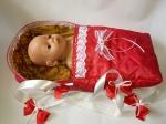 Переноска для пупса Baby Born Красная Шапочка (ББ936) Dutunka