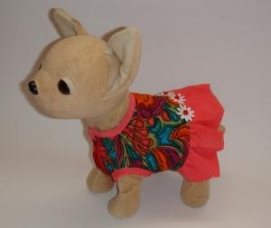 Платье для интерактивной собачки Яркое (ЧЧЛ76) Dutunka