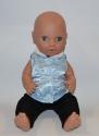 Комплект з демисезонною жилеткою для пупса Модний хлопчисько Dutunka