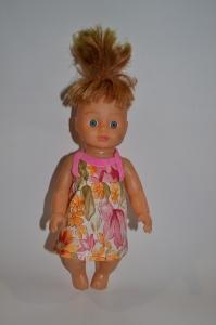 Сарафанчик для лялечки 28 см Квітковий Dutunka