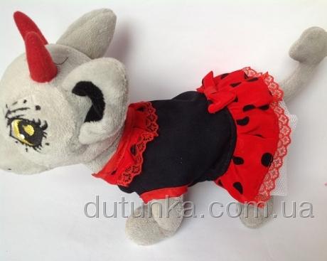 Сукня літня для собачки Чі Чі Лав Горошки Dutunka