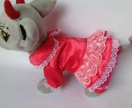 Комплект прогулочной одежды для собачки Чи Чи Лав Розочка (Ч398) Dutunka