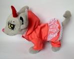 Комплект прогулочный для собачки Chi Chi Love Кораловый (Ч274)  Dutunka