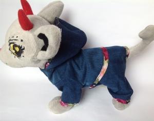 Комплект джинсовый для собаки Чи-чи Лав (Ч360)  Dutunka