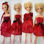 Платье для куколки Барби Кармен (Б254) Dutunka