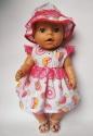 Нарядне плаття для ляльки Бебі Борн Цукерочка  Dutunka