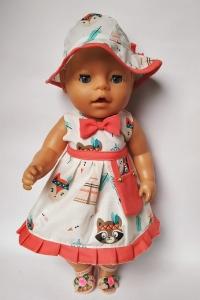 Літнє плаття для ляльки Бебі Борн Дикий захід Dutunka