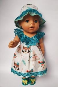 Літня сукня для Бебі Борн Весняна  Dutunka