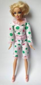 Літня піжама для Барбі Горошки (немає) Dutunka
