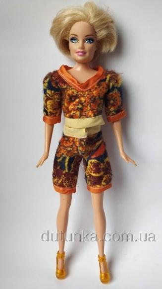 Теплий домашній костюм для ляльки Барбі Листопад Dutunka