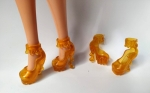 Желтые туфельки для Барби (Б317) Dutunka