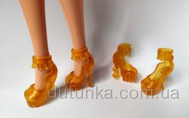 Жовті туфельки для Барбі Dutunka