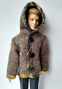 Пальто на кнопках для Кена (К45) Dutunka