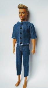 Літній джинсовий костюм для Кена  Dutunka