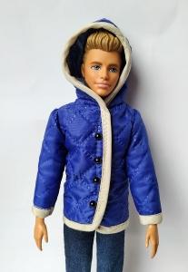 Куртка для Кена Синяя (К42) Dutunka