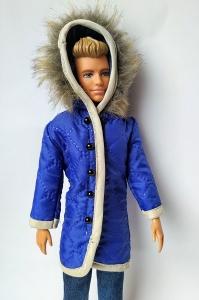 Куртка с капюшоном (с опушкой) для Кена (К41) Dutunka