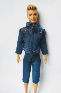 Джинсовый комплект для Кена Модный джинс (К18) Dutunka